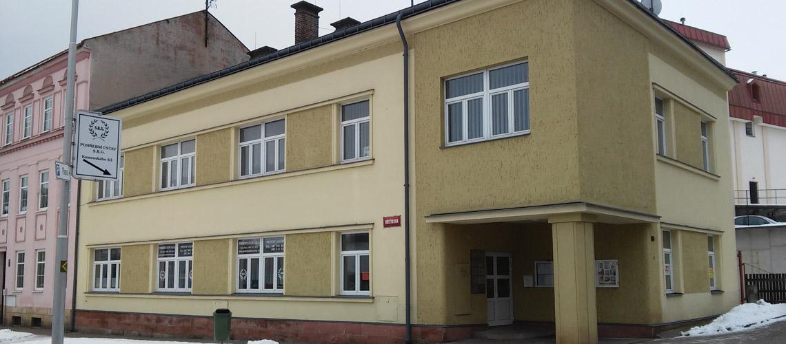 Kontaktní kancelář - Pohřební služba Trutnov